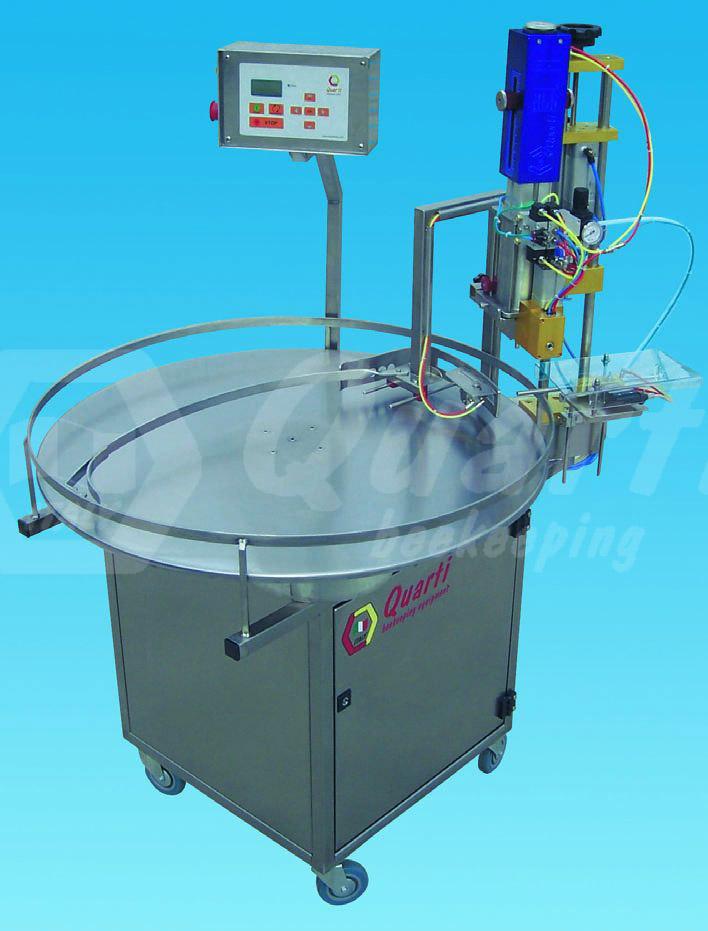 Tavolo rotante per riempimento vasi 250 1000 gr - Meccanismo rotante per tavolo ...